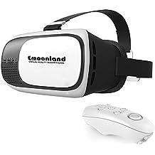 Occhiali Realtà Virtuale, Emoonland Cardboard VR Box Occhiali 3D Virtuali IMAX 3D Film Giochi per Cellulare 3.5