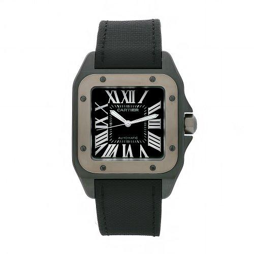 Cartier W2020010 - Reloj de pulsera hombre, color Negro
