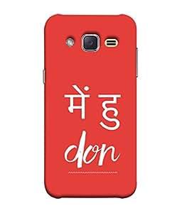 Fuson Designer Back Case Cover for Samsung Galaxy J1 Mini Prime (Bold Expressive Words )
