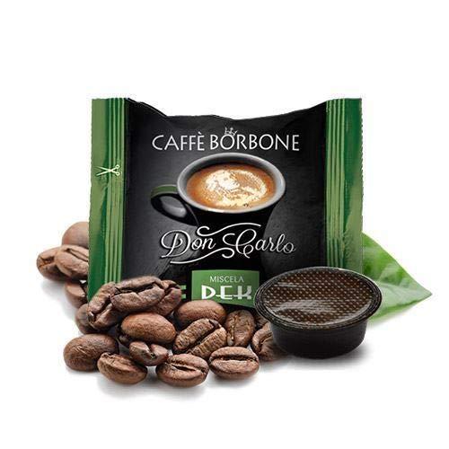 Caffè Borbone DEK - Lavazza a Modo Mio Decaffeinato - 50 Compatible cápsulas de café Espresso Italiano Made in Nápoles