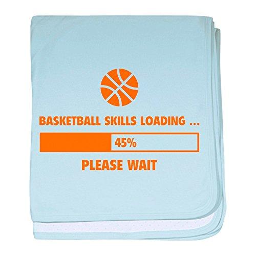 CafePress-Basketball Fähigkeiten Laden Baby Decke-Baby Decke, Super Weich Für Neugeborene Wickeldecke, baumwolle, himmelblau, Standard