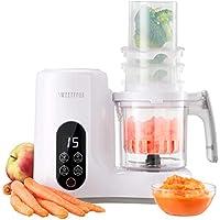 Babycook Robot de Cocina Multifuncion 6-en-1 para Bebé - Vapor, Batidora, Limpieza Automática, Esterilizador de Biberones, Recalentar, Descongelar - Robot Cocina Bebes