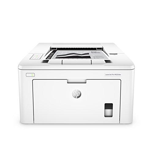 Hp m203dw laserjet pro stampante monocromatica, wireless, bianco