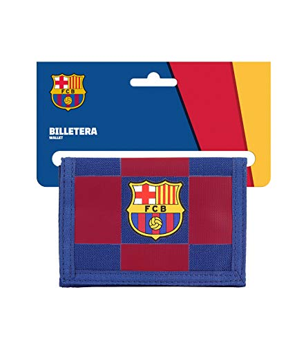 Cartera Billetera con Cabecera de Oficial FC Barcelona 1ª Equip. 19/20, 125x95mm