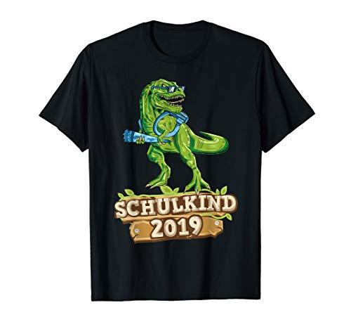 TRex Dinosaurier Einschulung Outfit Schulkind 2019 Jungen  T-Shirt