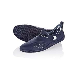 Speedo , Chaussures spécial piscine et plage pour femme, Homme, Zanpa Am, Navy/White, 6 UK (39 IT)