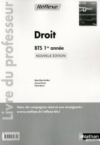 DROIT BTS 1 (POCH REF) PROF 13
