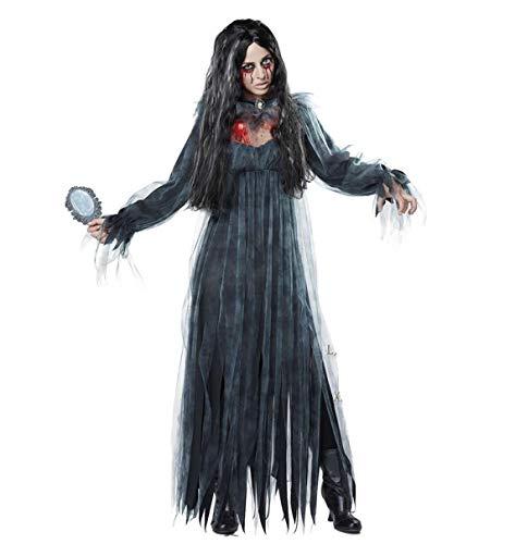 Tdhappy Halloween Rollenspiele Erwachsenen - Horror Blutig Zombies Kostüme Vampir - Braut Krankenschwestern Nonnen Maskerade Parteien,B,Die (Vampire Die Maskerade Kostüme)
