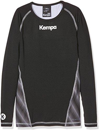 Kempa Kinder Bekleidung Teamsport Attitude Longsleeve, schwarz, 164, 200206802