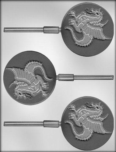 CK Products 7,6 cm Dragon Sucker Chocolate Mold by CK Products