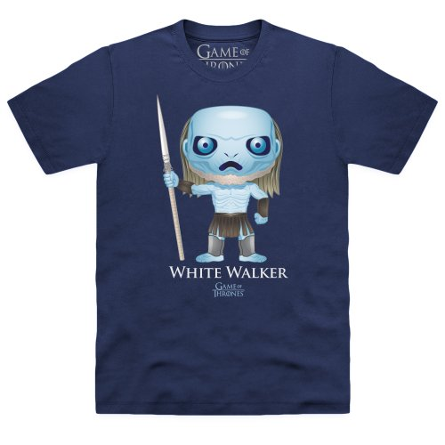 Game of Thrones Official Funko Pop White Walker T Shirt, Male