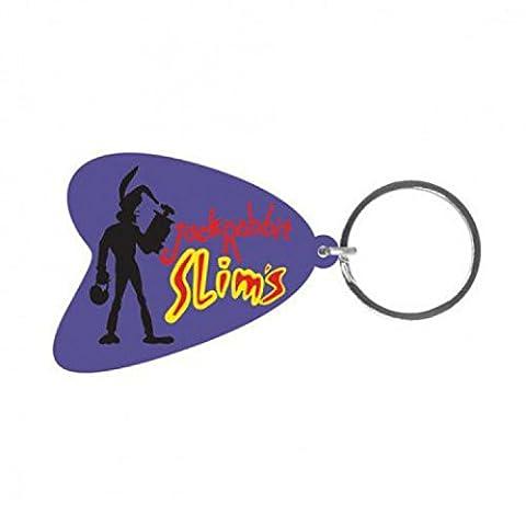 Set: Pulp Fiction, Jack Rabbit Slims Porte-Clés (6x4 cm) + 1x Sticker Surprise 1art1®