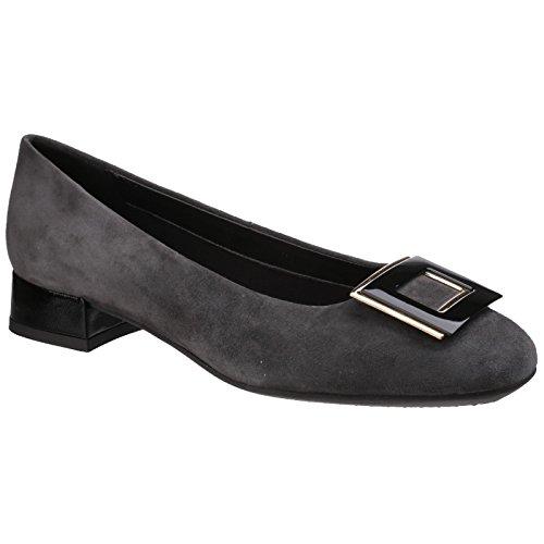 THE FLEXX Las bailarinas zapatos tacones B252_04 ASFALTO
