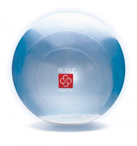 Bosu Gymnastikball 65 cm Blau Transparent