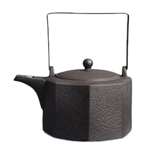 Cooking Teapot 1.8L Ceramic Kungfu Tea Set Dry Kettle Kettle Roasted Tea Dry Cooking Teapot Quart Flame Top
