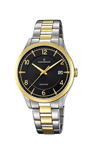 Candino Mens Analogue Classic Quartz Watch with Stainless Steel Strap C4631/2