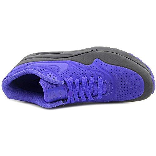 Nike Air Max 1 Ultra Moire, Low-Top Sneaker homme noir -blanc