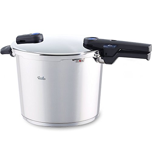 Fissler Vitaquick Olla a Presión, 10 L, Diámetro de 26 cm, Apta para Cocinas de Inducción, Gas, Vitrocerámica...