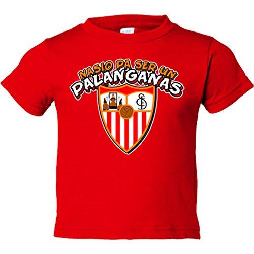 Camiseta niño nacido para ser un palanganas Sevilla FC - Rojo, 9-11 años