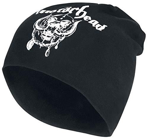 Motörhead England - Jersey Beanie Mütze schwarz (Baseball Geburtstag Jersey)