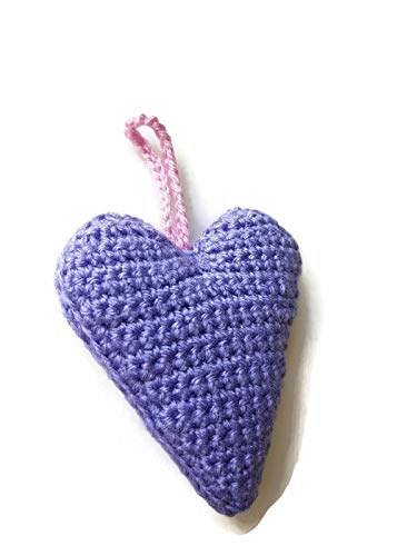 Lila und violett Herz Dekoration Ornament Schlafzimmer Kinderzimmer Geschenk für sie