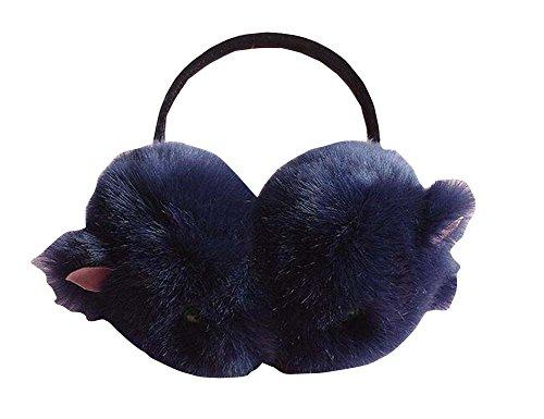 Dark Blue Cat Earmuff pour Ear Sport Femmes Outdoor Warmer