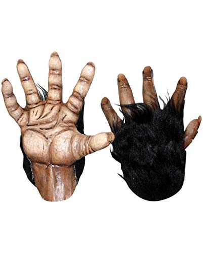 Affen Hände braun Deluxe
