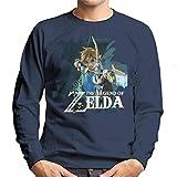 Zelda Breath of The Wild Link Bow and Arrow Men's Sweatshirt