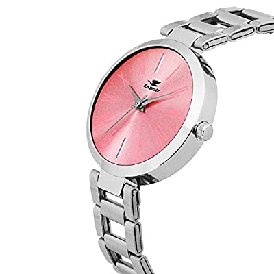 Espoir Analog Pink Dial Women's Watch-LCS-0087