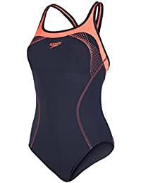 Speedo Damen Fit Kickback Badeanzug