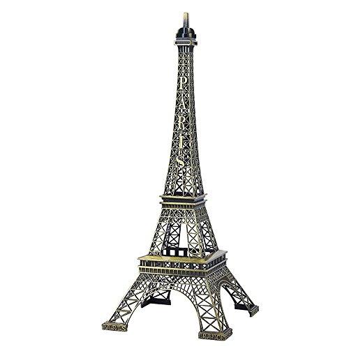 Eiffel Bronce Decoraciones Torre Oficina