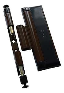 cal doublex xl braun schwarz t r und fenstersicherung einbruchschutz fensterschloss 2. Black Bedroom Furniture Sets. Home Design Ideas