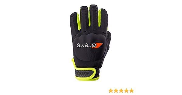 /Schwarz//Fluo Gelb GRAYS Touch Pro Hockey Handschuh/ 2017//18