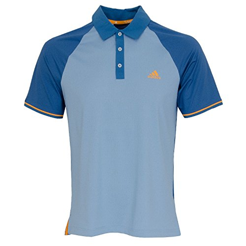 Adidas Golf 2018 ClimaCool Athletic Raglan Polo Mens Performance Golf Polo Shirt