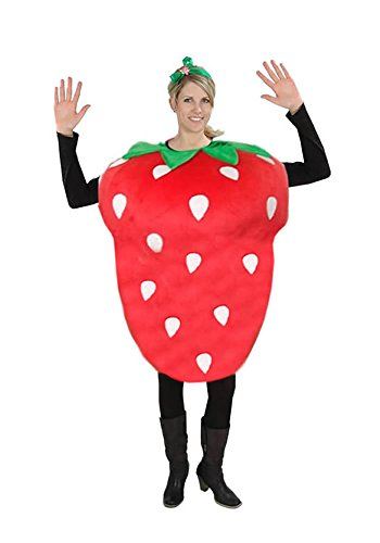 Erdbeere Kostüm - Erdbeere Kostüm Karneval Fasching Motto Party