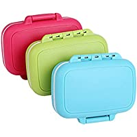 , portable 3Slots Dichtung zusammenklappbar Pillendose Tablettenbox Fällen Vitamin Medizin Pille Box Case Container... preisvergleich bei billige-tabletten.eu