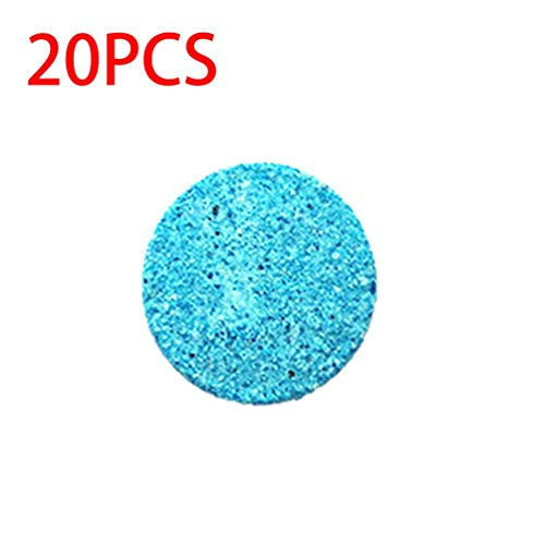 Wenwenzui Car Solid Wiper Glass Cleaner High Performance Auto Window Cleaning Supplies Blue Blue Milk Glass