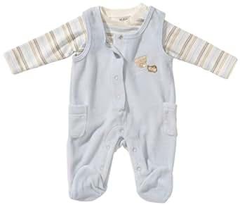Kanz Unisex - Baby Strampler 1242811, Gr. 50, Blau (3096)