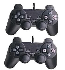 Twin DualShock Analogue Controller for Sony PS2