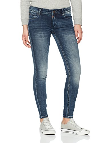 Timezone Damen Tight Aleena Skinny Jeans, Blau (Blue Patriot Wash 3624), W30/L30 - Skinny Leg Tight