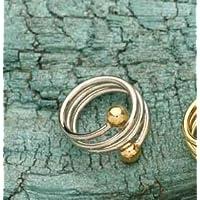 Berg Spiral Bronze versilbert und vergoldet, Ring, 2 Magnete mit 800 Gauss preisvergleich bei billige-tabletten.eu
