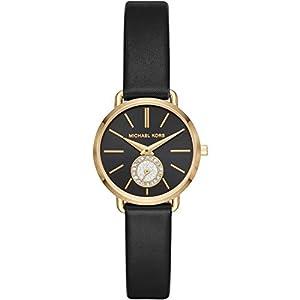 Michael Kors Reloj Analógico para Mujer de Cuarzo con Correa en Cuero MK2750 de Michael Kors