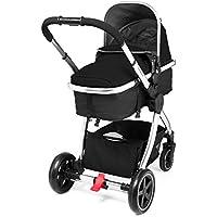 Mothercare Journey Travel System, Black/Chrome