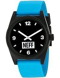 Neff Flava Watch - Black / Cyan