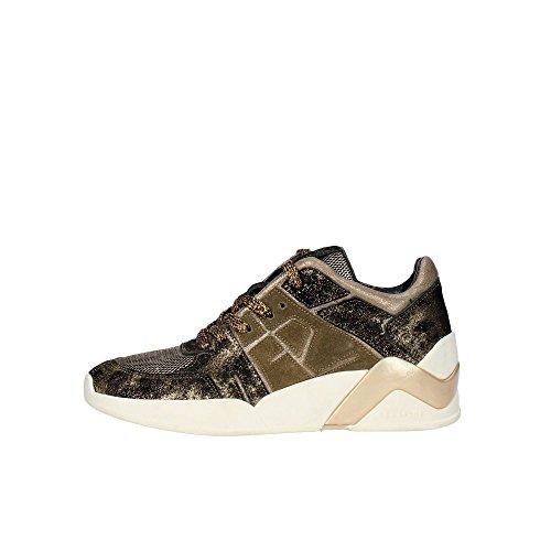 Serafini CAMP.20 Sneakers Donna Pelle/nylon Oro Oro 38