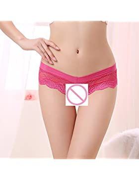 Lady sexy mujer sexy bragas LACE LACE V-String Tanga Briefs ropa interior femenina lenceria sexy bragas chanclas...