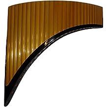 Profesional 27tubos gran Baritono–Flauta de Pan Q 'awary–incluye funda