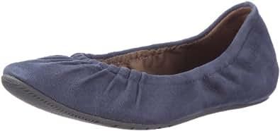 Marc O'Polo 53 22MW53922, Damen Ballerinas, Blau (blue 857), EU 38 (UK 5)
