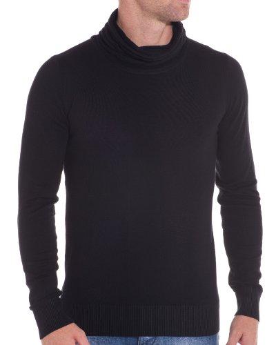 BLZ jeans - Mode Pullover und schwarzen Design Schwarz