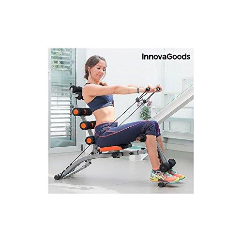Foto de InnovaGoods IG115519 Banco de Musculación, Unisex Adulto, Negro, Talla Única